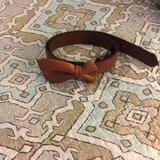 American Eagle Outfitters Accessories | American Eagle Leather Belt Xs | Color: Tan | Size: Xs