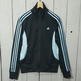 Adidas Jackets & Coats | Adidas Womens Jacket | Color: Black/Blue | Size: L