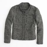 J. Crew Jackets & Coats   J. Crew Factory Gilded Tweed Jacket   Color: Black/Gold   Size: 6