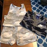 Nike Matching Sets   Nike Lot   Color: Tan   Size: Xsg