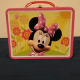 Disney Other | Mini Mouse Yellow & Pink Tin Lunch Box | Color: Pink/Yellow | Size: Osbb