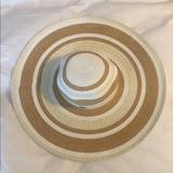 Nine West Accessories   *New* Nine West Floppy Hat   Color: Tan/White   Size: Os