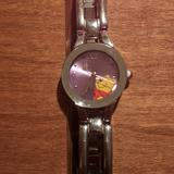 Disney Accessories   Clearance Disney Pooh Watch   Color: Silver   Size: Adjustable