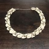 American Eagle Outfitters Jewelry   American Eagle Fabric Necklace   Color: Cream/Tan   Size: Os