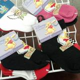 Disney Other | Disney Characters Infant Socks (8 Pair Included) | Color: Black/Red | Size: Osbb