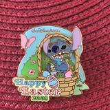 Disney Other | Disney Stitch Easter Pin | Color: black | Size: Os