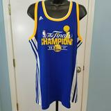 Adidas Tops | Adidas Kevin Durant Women'S Jersey Size Xl | Color: Blue/Yellow | Size: Xl