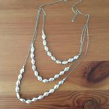 American Eagle Outfitters Jewelry   American Eagle Beaded Necklace   Color: Silver   Size: Os