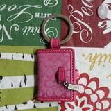 Coach Accessories | Coach Keychain Wallet Frame | Color: Pink | Size: Os