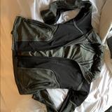 Athleta Jackets & Coats   Athleta Hooded Jacket   Color: Black/Gray   Size: S