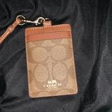 Coach Accessories | Coach Lanyard | Color: Brown/Tan | Size: Os