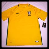 Nike Other   Nike Dri-Fit Brasil Soccer Yellow Jersey Men Large   Color: Yellow   Size: Large
