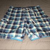 American Eagle Outfitters Swim | American Eagle Swim Trunks | Color: Blue | Size: 32