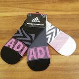 Adidas Accessories | Adidas Super No Show 3pair Socks | Color: Gray/Purple | Size: 4-10