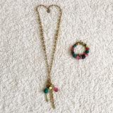 Jessica Simpson Jewelry | Jessica Simpson Necklace And Bracelet Set | Color: Gold | Size: Os
