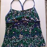Nike Swim | Nike Swim Tankini Size Large | Color: Blue/Green | Size: L