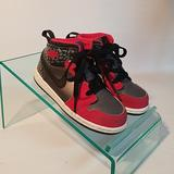 Nike Shoes | Air Jordan Youth Shoes | Color: Black/Red | Size: 8b