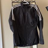 Adidas Jackets & Coats | Adidas Womens Response Running Jacket | Color: Black/White | Size: M