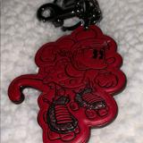 Coach Accessories | Authentic Coach Mickey Roller-Skate Keychain | Color: Red | Size: Os