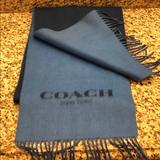 Coach Other | Coach Scarf | Color: Blue | Size: Os
