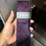Michael Kors Other | Micheal Kors Mens Tie | Color: Purple | Size: Os