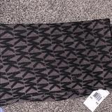 Michael Kors Other | Michael Kors Infinity Scarf | Color: Black/Gray | Size: Os