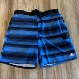 Adidas Swim | Adidas Mens Swim Trunks | Color: Black/Blue | Size: Xl