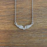 American Eagle Outfitters Jewelry   Angel Wings Necklace   Color: Gold   Size: Os