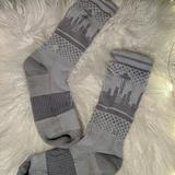 Nike Other | All Grey Seattle Skyline Socks | Color: Gray/Silver | Size: Woman'S 6-10