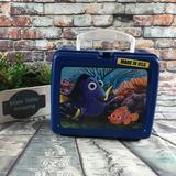 Disney Other | Disney Finding Dory Nemo Hard Plastic Lunch Box | Color: Blue/Orange | Size: Osbb