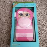 Kate Spade Accessories | Kate Spade Pink Monkey Silicone Case | Color: Pink | Size: Os