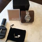 Michael Kors Jewelry | Michael Kors, Like New, Boxed | Color: Silver | Size: Os