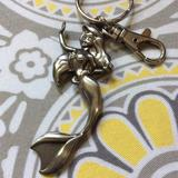 Disney Accessories | Little Mermaid Key Chain | Color: Silver | Size: Os