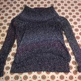 American Eagle Outfitters Sweaters | American Eagle Knit Sweater With Turtleneck | Color: Purple | Size: Xs