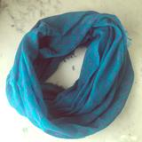 American Eagle Outfitters Accessories | American Eagle Scarf | Color: Blue/Silver | Size: Os