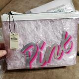 Pink Victoria's Secret Accessories | Brand New Cosmetics Bag Vs | Color: Pink | Size: Os