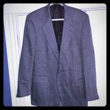 Burberry Suits & Blazers | Burberry - 100% Wool Sport Coat - Charcoal - 44l | Color: Gray | Size: 44l