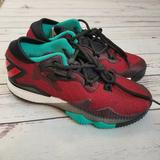 Adidas Shoes   Adidas Boys Crazylight Boost Low Shoes Sz 5   Color: Red   Size: 5b