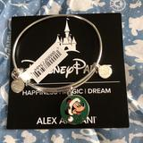 Disney Jewelry   Alex And Ani Disney Bracelet New With Tag   Color: Green/Silver   Size: Os