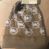 Michael Kors Other | Michael Kors Beanie | Color: Cream/White | Size: Os