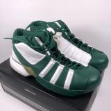 Adidas Shoes | 2002 Adidas Wonens Bromium Iii W Basketball Shoes | Color: Green/White | Size: Various