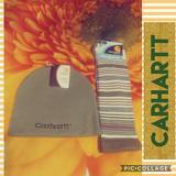 Carhartt Accessories | Carhartt Beanie & Sock Bundle | Color: Green | Size: Beanie- Ossocks-M Shoe-5.511.5
