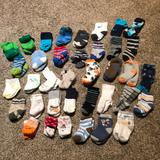 Nike Accessories | 37 Pairs Of Socks! Sz: 0-3 Months | Color: Tan | Size: Osbb