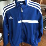 Adidas Jackets & Coats   Adidas La Galaxy Sport Kids Jacket Yxs   Color: Blue   Size: Youth Xs