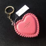 Kate Spade Accessories   Kate Spade Large Pink Heart Keychain   Color: Pink   Size: Os