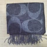Coach Accessories | New Mens Coach Scarf | Color: Black/Silver | Size: 70 Long X 10 Wide
