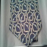 Gucci Accessories | Gucci Vintage Stirrup Tie | Color: Blue | Size: Os