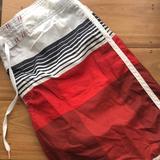 American Eagle Outfitters Swim   American Eagle Swim Trunks -Xl   Color: Orange/White   Size: Xl