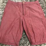 J. Crew Shorts | Mens J. Crew Coralred Shorts - Size 31 Waist | Color: Red | Size: 31