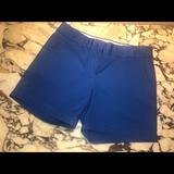 J. Crew Shorts | J.Crew Chino Shorts Broken-In Cotton- Size 00 | Color: Blue | Size: 00